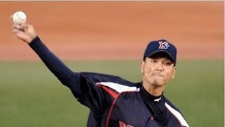 新垣渚の引退を同期の和田毅が語る.