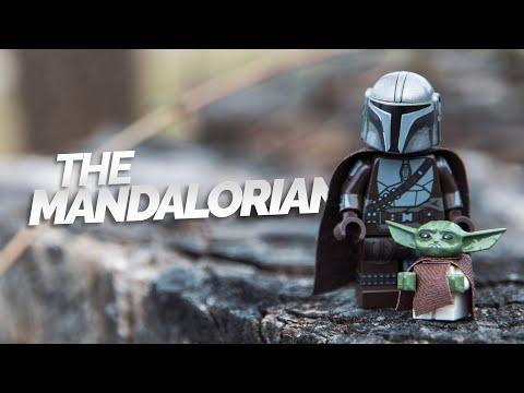 MANDALORIAN /& BABY YODA x2 **NEW** Custom Mando Child Din Djarin Minifigures