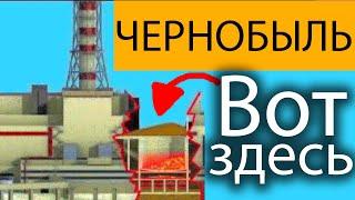 Под реактором Чернобыля «МУЖИКИ страшного там ничего нет зайдёте и выйдете» Чернобыль 1986г