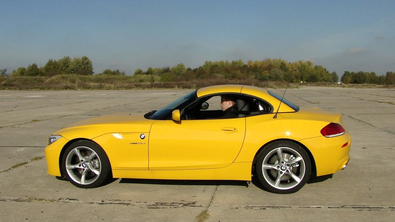 New Bmw Z4 Sdrive 35is E89 Roof In Operation Youtube
