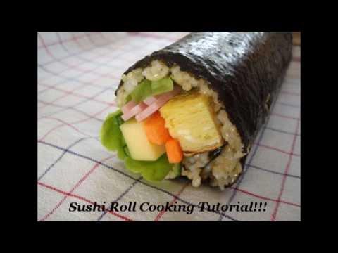 NeroCakes Sushi Rolls (No Raw Fish) Tutorial