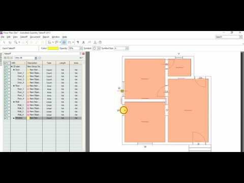 Autodesk Quantity Takeoff & estimation with coasting full training Part 1