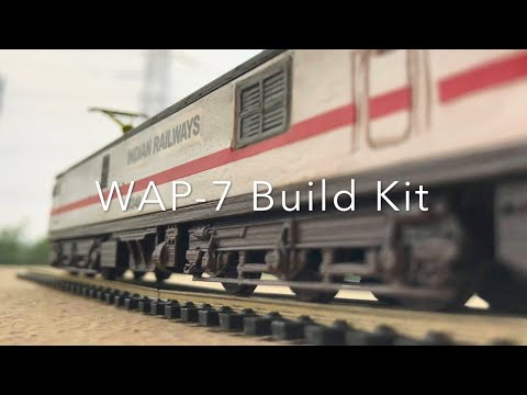 The Pink Engine – Indian Railways WAP-7 Build Kit HO Scale Model