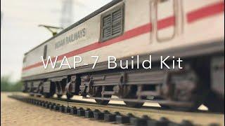 Https://www.thepinkengine.com 3d printed kit से खुद बनाइये हमारे भारतीय रेल के शानदार wap -7 लोकोमोटिव! असली इंजन ठीक १०० गुना छोटा  यह आप अपना सकते ह...