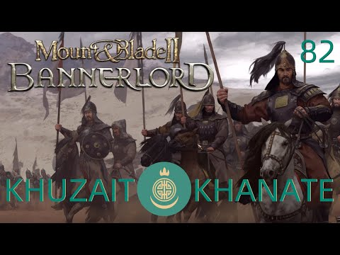 Mount & Blade 2: Bannerlord | Khuzait Campaign #82 | The Amazing Flying Battanian