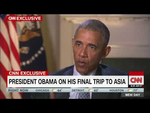 President Obama opens up on last Asia trip