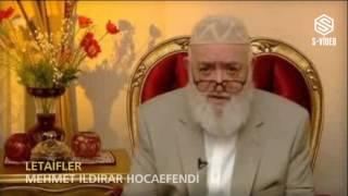 """Mehmet Ildırar """"Letaifler"""" Konulu Sohbeti"""