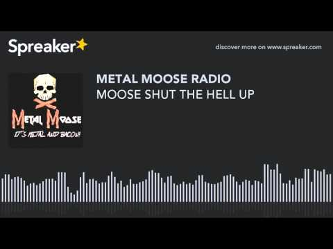 MOOSE SHUT THE HELL UP (made with Spreaker)