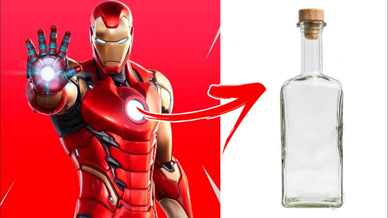 Bottle Art Iron Man Bottle Craft Green Toons Youtube