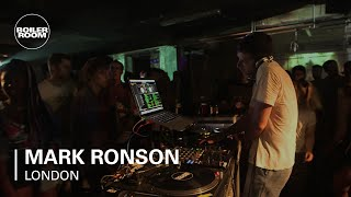 Mark Ronson Boiler Room DJ Set