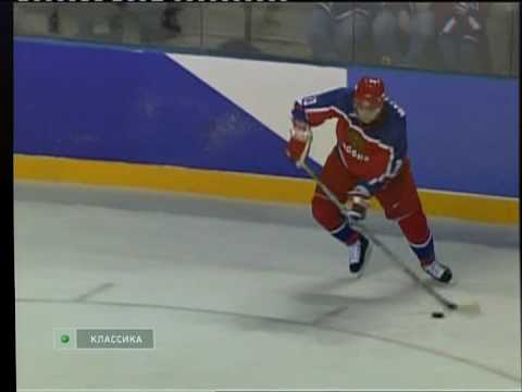 Salt Lake 2002 Olympics hockey, USA - RUS