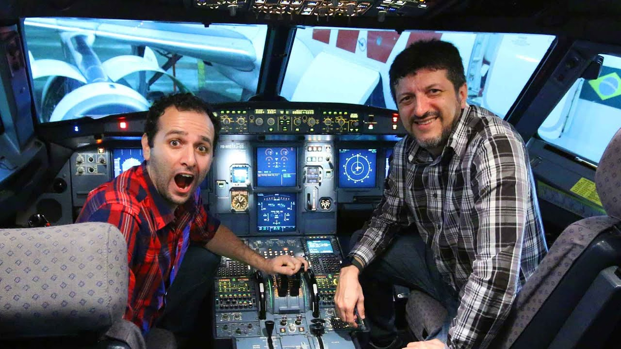 Por dentro da cabine de um avião ft. LITO AVIÕES E MÚSICAS ????Manual do Mundo