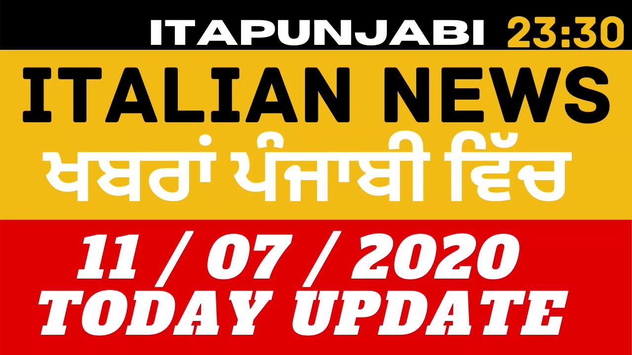 11/07 Italian News in Punjabi [ Translated in Punjabi] by Kulvir Singh