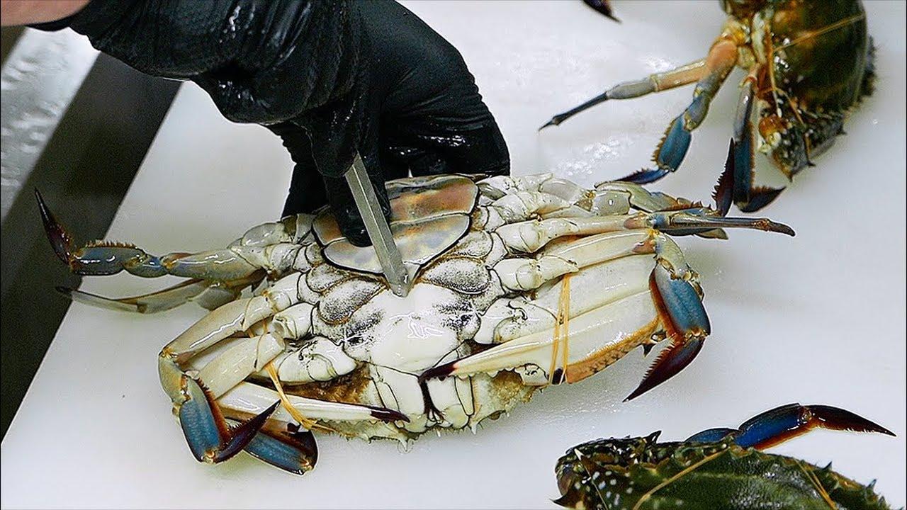 japanese-food-red-lobster-scorpion-crabs-blue-crab-sashimi-teruzushi-japan