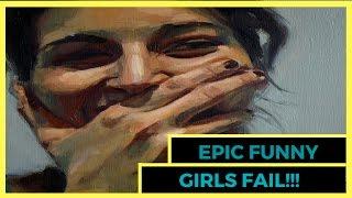 Epic funny girls fail compilation!!! _ Подборка приколов и неудач с девушками!!!