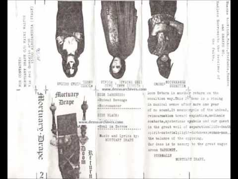 Mortuary Drape (Ita) - Doom Return (Full Demo) thumb