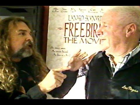 Lynyrd Skynyrd's Artimus Pyle and Coach Leonard Skinner RAW FOOTAGE interview 1996