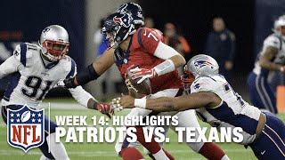 Patriots vs. Texans | Week 14 Highlights | NFL