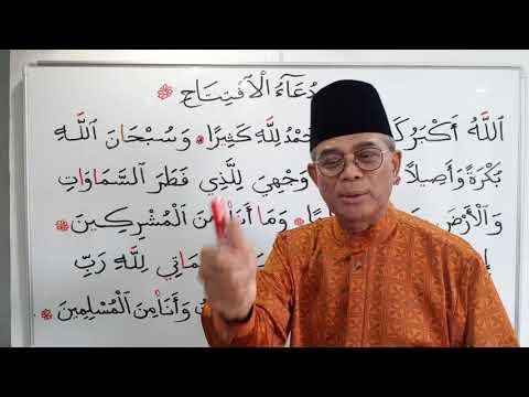 DOA IFTITAH - Di dalam Solat 2018/4