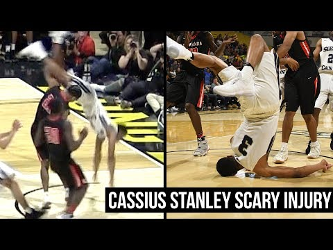 Cassius Stanley Scary Injury: Front Flips Over Defender & Lands on Head