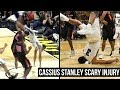 Download Cassius Stanley Scary Injury: Front Flips Over Defender & Lands on Head