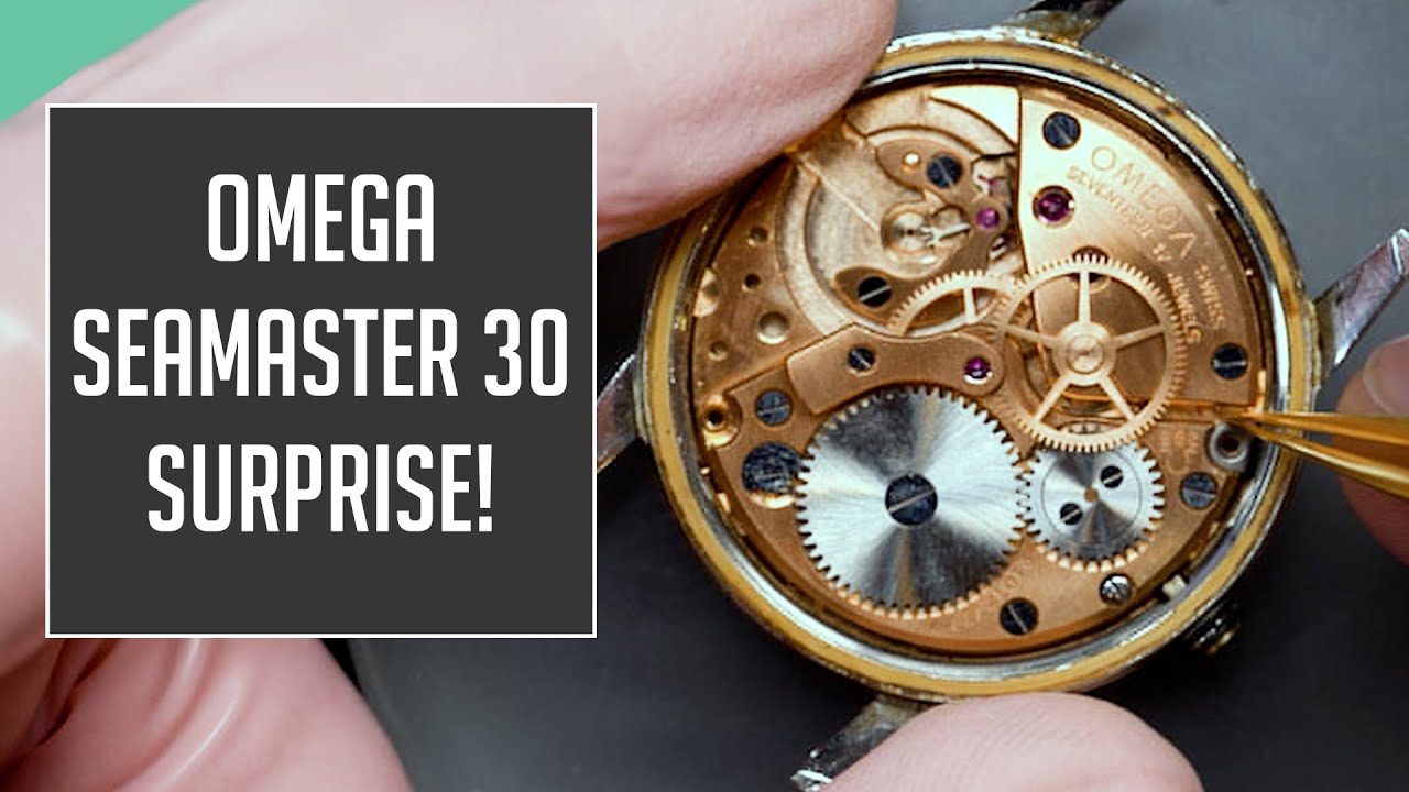 Omega Seamaster 30 Vintage Watch Restoration With a Surprise :(