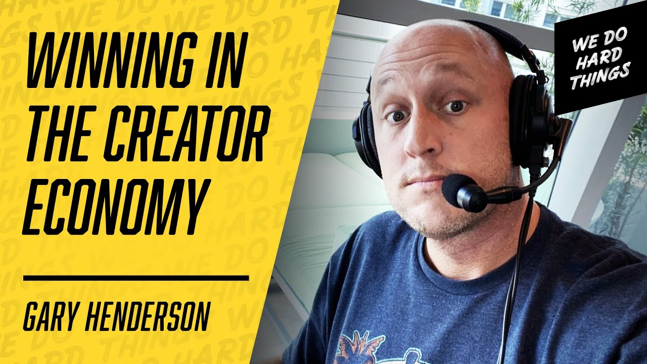 Your Voice Matters | The Clubhouse Creator Gary Henderson on the We Do Hard Things Podcast