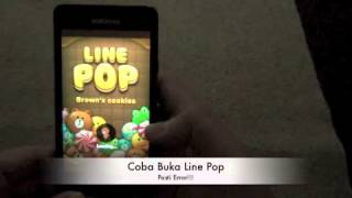 Cara Bermain Line Pop di Android yang root atau custom OS