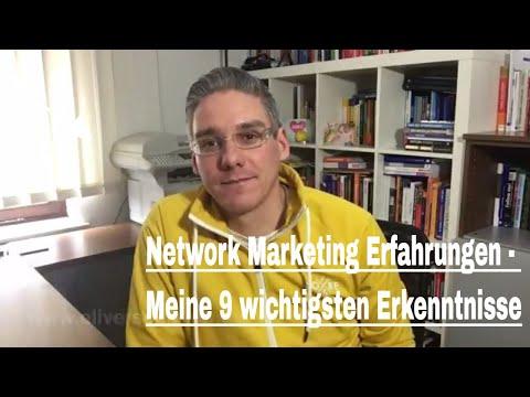 Network Marketing Erfahrungen - Meine 9 wichtigsten Erkenntnisse