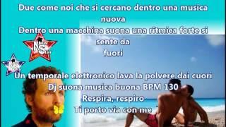 TI PORTO VIA CON ME - Jovanotti feat Benny Benassi - TESTO (LYRICS) - Lorenzo Cherubini