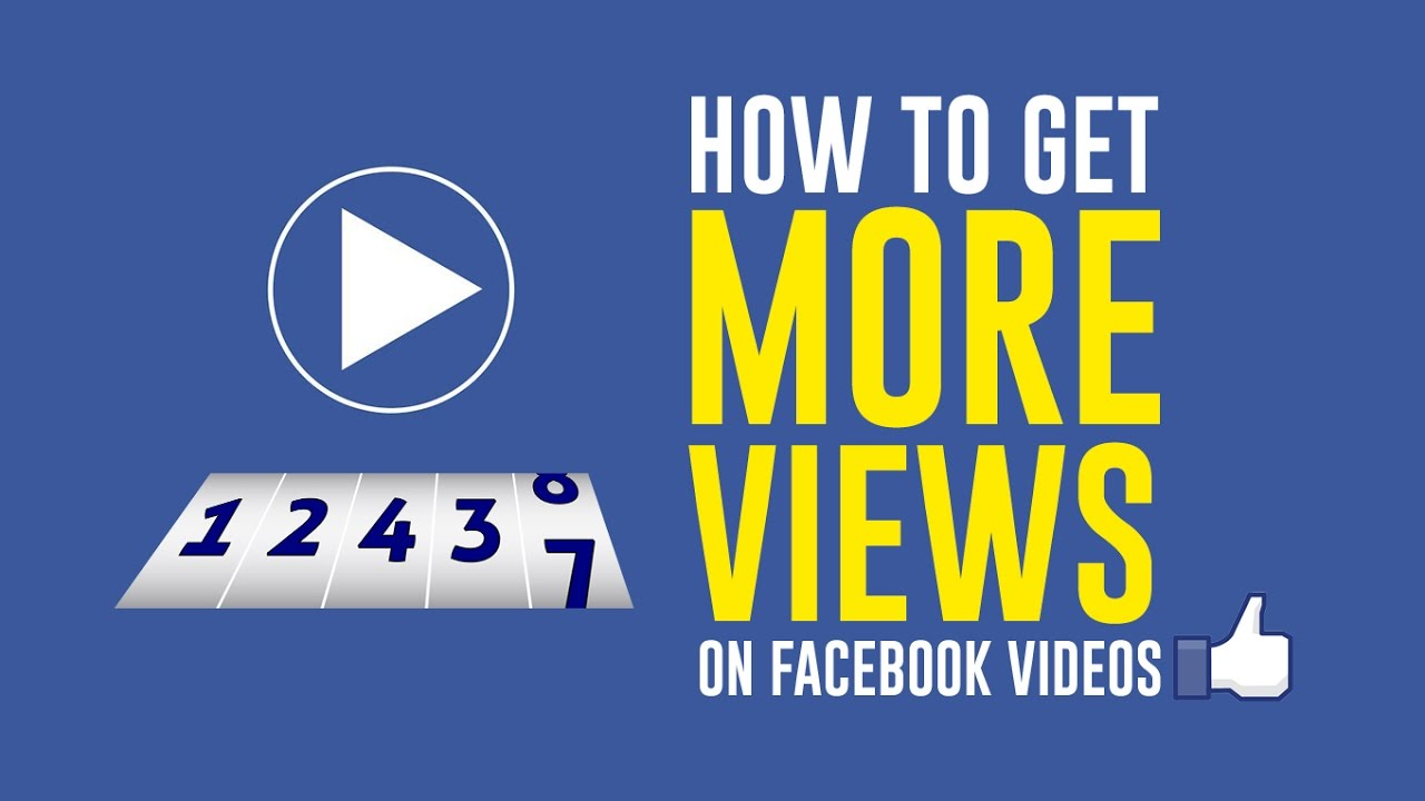 Get More Kato How To Get More Views On Your Facebook Video Secret Tip