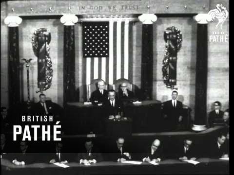 President Johnson's First Speech (1963)
