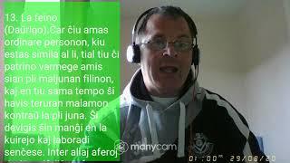 Fundamento De Esperanto Ekzerco 13 La feino Daŭrigo   Siaj   Kiu   Tiu