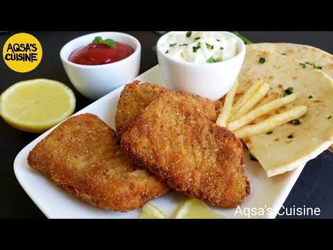 CRISPY FRIED FISH WITH TARTAR SAUCE RECIPE || By Aqsa's Cuisine