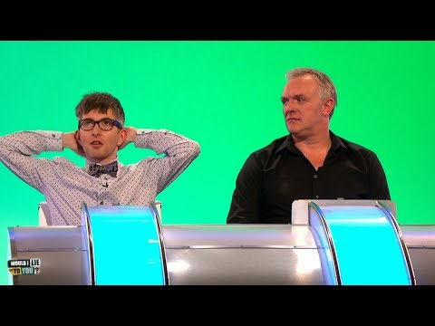 """Gareth Malone: """"I have a crippling fear of the underside of ships.""""  - Would I Lie to You? [HD][CC]"""