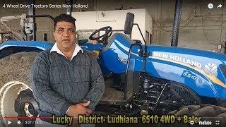 4 Wheel Drive Tractors Series New Holland