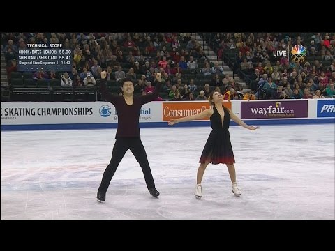 2016 U.S. Nationals - Shibutani / Shibutani FD NBC HD