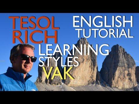 English Learning Styles - VAK