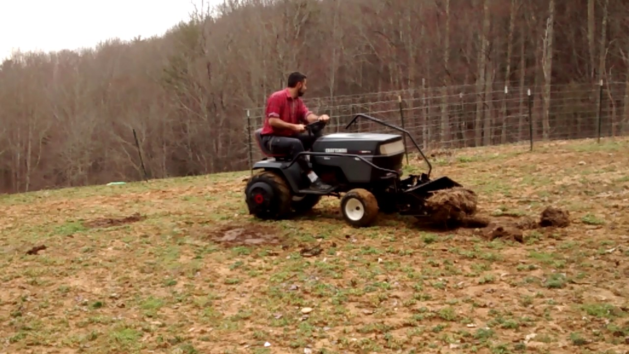 Front End Scoop Attachment For Your Riding Mower Review