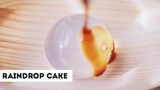 """RAINDROP"" CAKE TASTE TEST! + RECIPE"