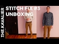 Unboxing My Stitch Fix #3 - January 2017 | Men's Clothing Subscription