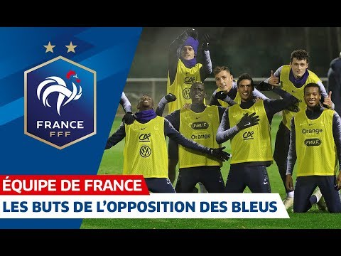 Les buts de lopposition des Bleus, Equipe de France I FFF 2018