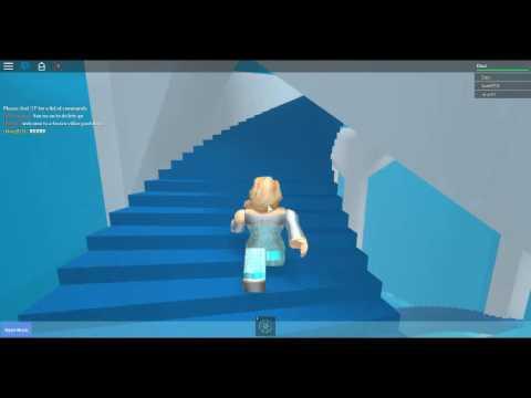 Demi lovato let it go  frozen game on roblox