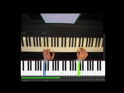 how to play married life on piano easy