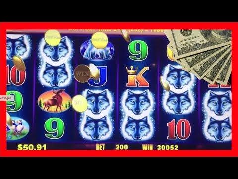 BIG WINS!!! BONUSES on Wolf Moon Slot Machine