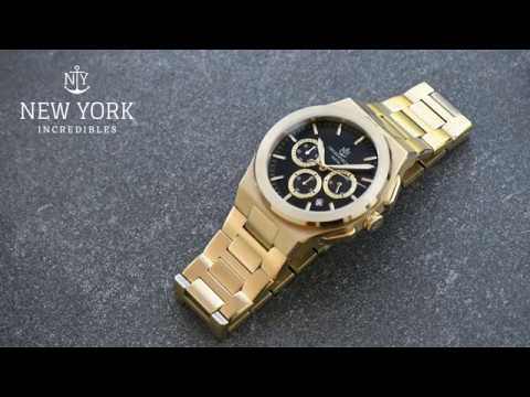 Close Up Video Watch Varick, By NYI Watches