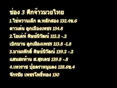 วิจารณ์มวยช่อง3,NBT วันเสาร์ที่ 21 ธันวาคม 2556
