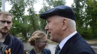 Yomg'ir repairing yo'llar haqida Khabarovsk hamda meri
