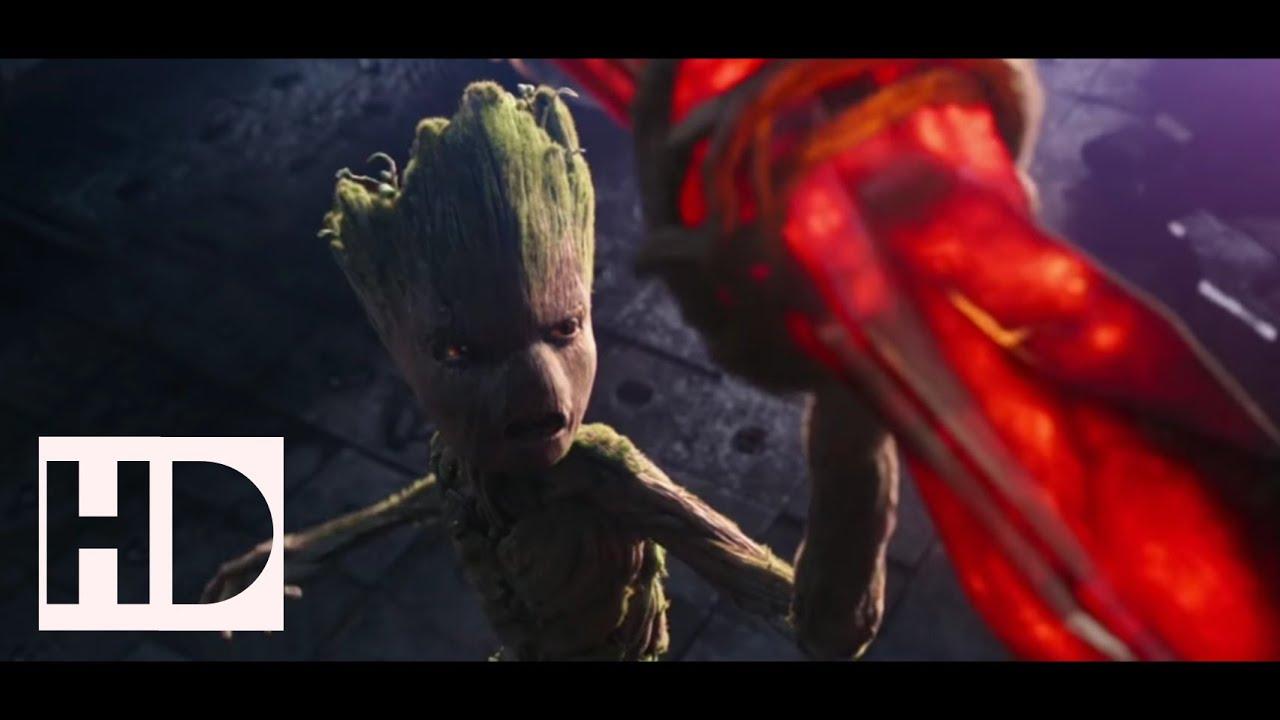 Stormbreaker Making Scene Hd Groot Helps Thor To Make