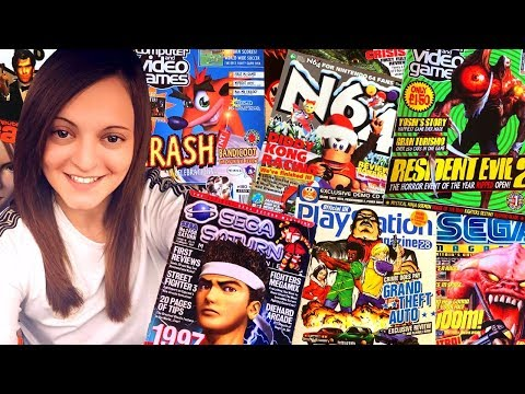 Video Game Magazine Pickups & Trading! - On The Road w/Holster!